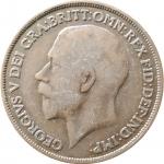 1 пенни 1915 Великобритания VF