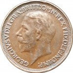 1 фартинг 1933 Великобритания VF