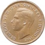 1 фартинг 1946 Великобритания VF