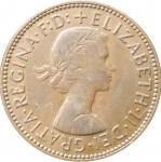 1\2 пенни 1959 Великобритания VF