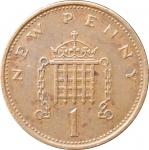 1 пенни 1971 Великобритания VF