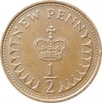 1\2 пенни 1971 Великобритания VF