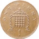 1 пенни 1984 Великобритания VF