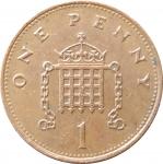 1 пенни 1994 Великобритания VF