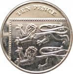 10 пенсов 2013 Великобритания XF
