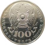 100 тенге 2016 Жангельдин UNC