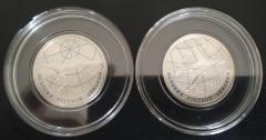 1 рубль 2013 СПМД АНТ-25 и ТУ-160 PROOF Набор 2 монеты История Русский Авиации