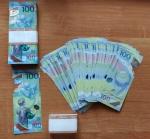 100 рублей 2018 Чемпионат мира по футболу, серия АA, UNC