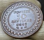 10 сантимов 1917 Тунис