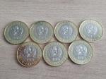 Набор из 7 монет Казахстана 2020 Сокровища степи